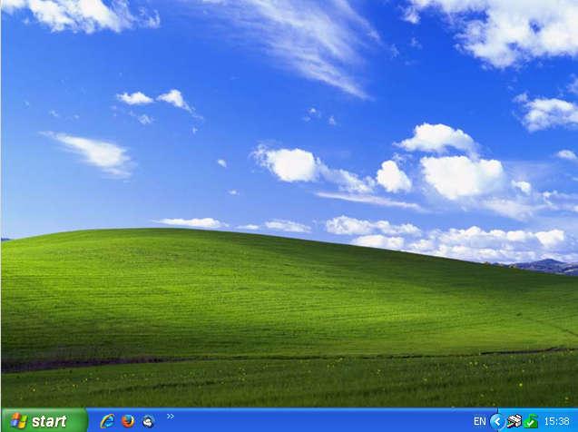 Windows XP Desktop